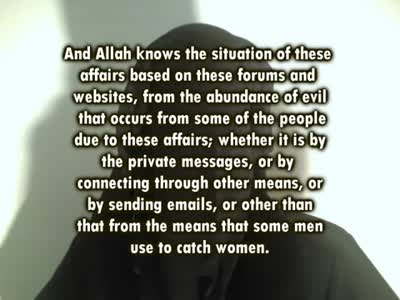 Veiled sisters uploading their pictures on the internet _ Shaykh Haamid ibn Al Khamis Al Junaibee