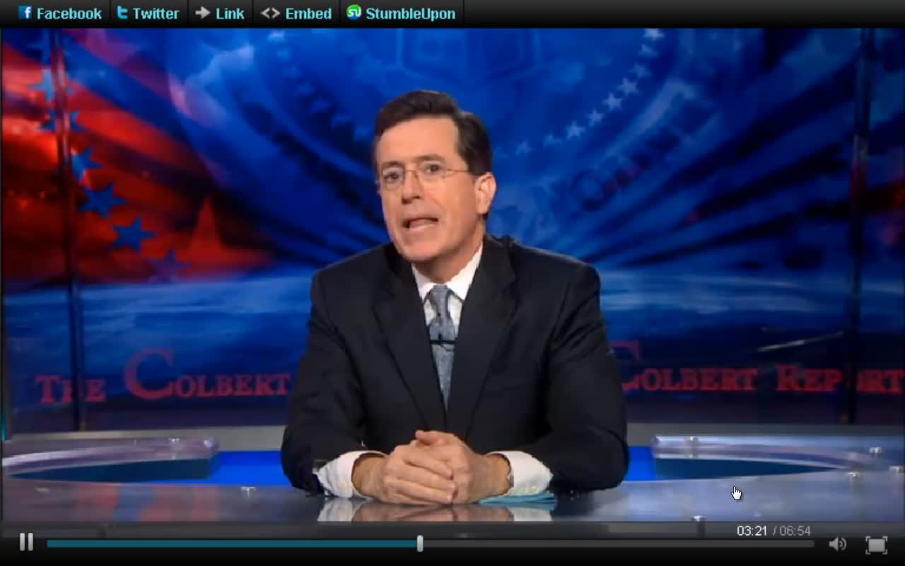 Stephen Colbert and Contraception