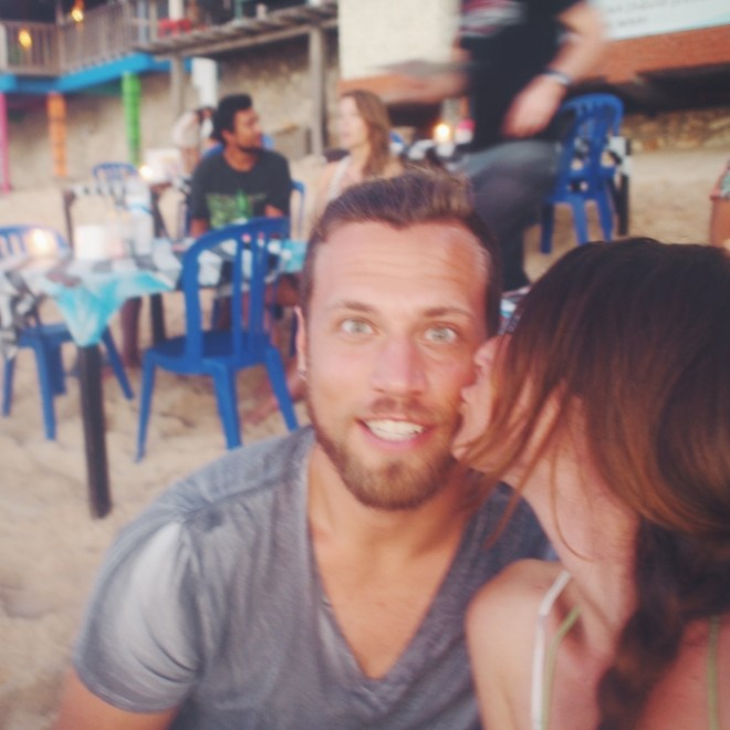Gypset Guide: Living, working and traveling in Bali. Reunited with my love at Bingin Beach.