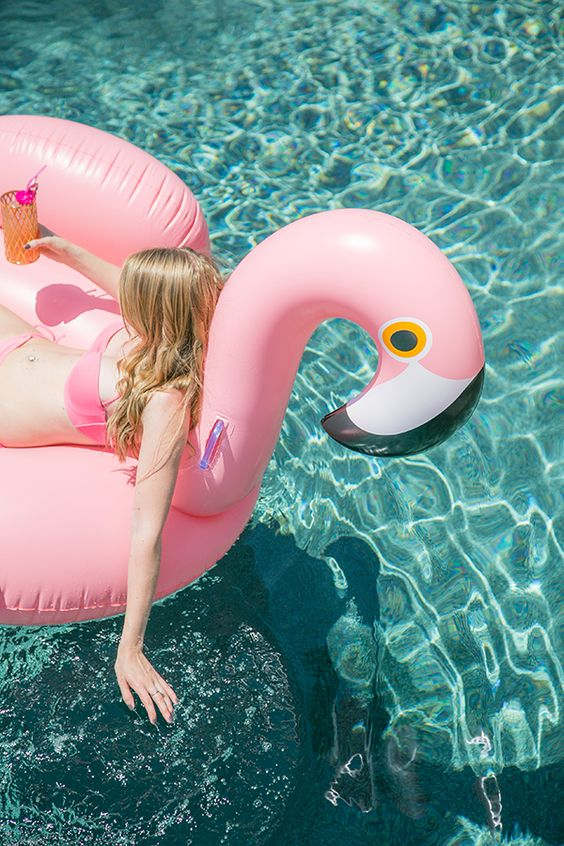 100 freedom-igniting things I want to do in my 30's: Get a pink inflatable flamingo.