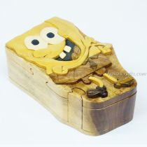 Intarsia wooden puzzle boxes 15