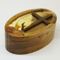 Intarsia wooden puzzle boxes 49