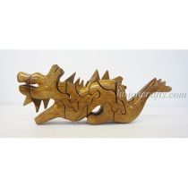 wood puzzles Dragon