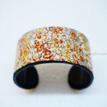 Eggshell Lacquer Bracelet