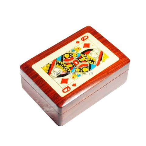 Playing Card Box Queen of Diamonds (2)