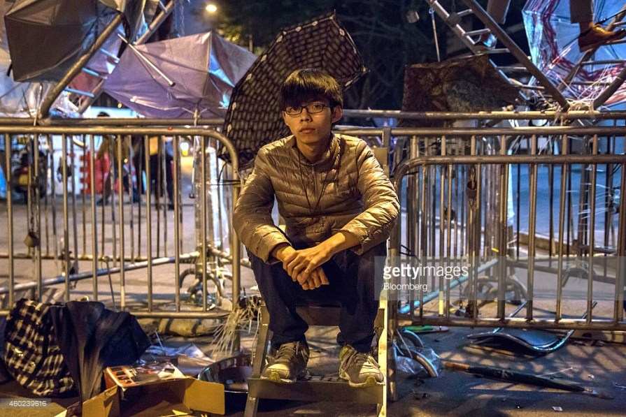 Facing Jail, Democracy Activist Joshua Wong Says 'Hong Kong Is Under Threat'