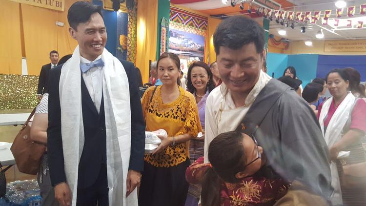 Hội Thảo Nhân Quyền Tây Tạng - Việt Nam, Xây Dựng Lòng Tin Và Cùng Nhau Hành Động, Tong Thong Tay Tang Lobsang Sangay
