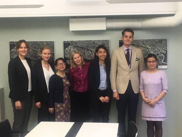 Toàn cảnh Chiến dịch Vận động Nhân quyền UPR năm 2017 - LÀM VIỆC VỚI BỘ NGOẠI GIAO THỤY ĐIỂN TẠI THỦ ĐÔ STOCKHOLM
