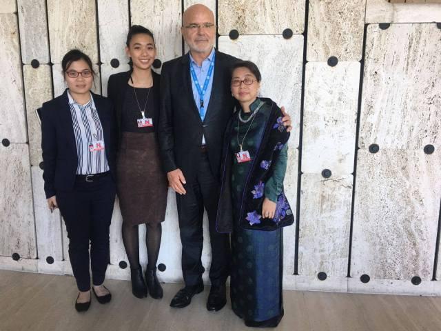 Toàn cảnh Chiến dịch Vận động Nhân quyền UPR năm 2017 - gặp gỡ với ông UN Special Rapporteur on human rights defenders, Michel Forst - Báo cáo viên đặc biệt của Liên Hiệp Quốc về Nhà hoạt động nhân quyền (4)