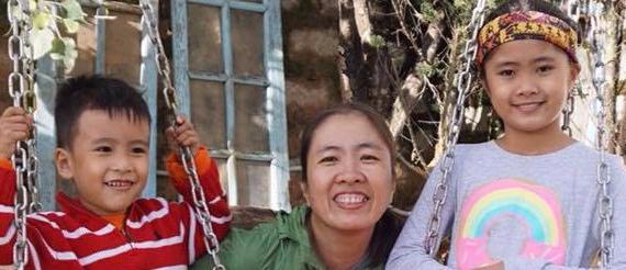 Me Nam Nguyen Ngoc Nhu Quynh-and-children-VOICE Vietnam - Vietnam Free Expression Newsletter No. 35-2017 – Week of October 23-29