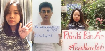 Nhiều bạn trẻ lên tiếng sau bản án 14 năm tù của Hoàng Đức Bình