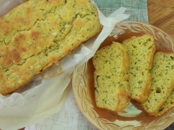 Small Of Zucchini Cheesy Bread