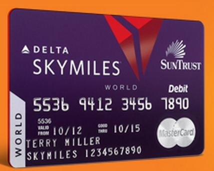 The Suntrust Delta Debit Card is Back for New Accounts at