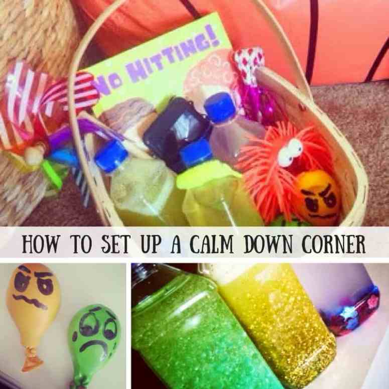 Using a calm down corner in your home can help kids learn to manage big emotions in a gentle way.