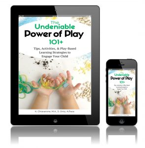 Get the Undeniable Power of Play today and learn through play at home!