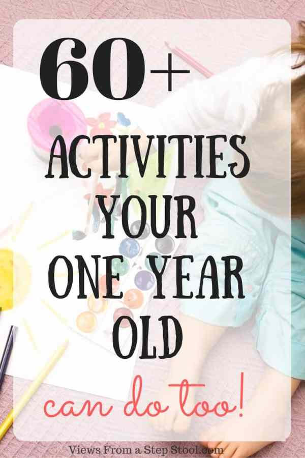 sensory activities for 1 year olds  over 65 ideas