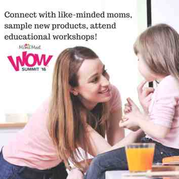 Are you a 'green' mom or blogger looking to connect with brands and like-minded individuals? Check out the Green Moms Meet WOW Summit 16'!