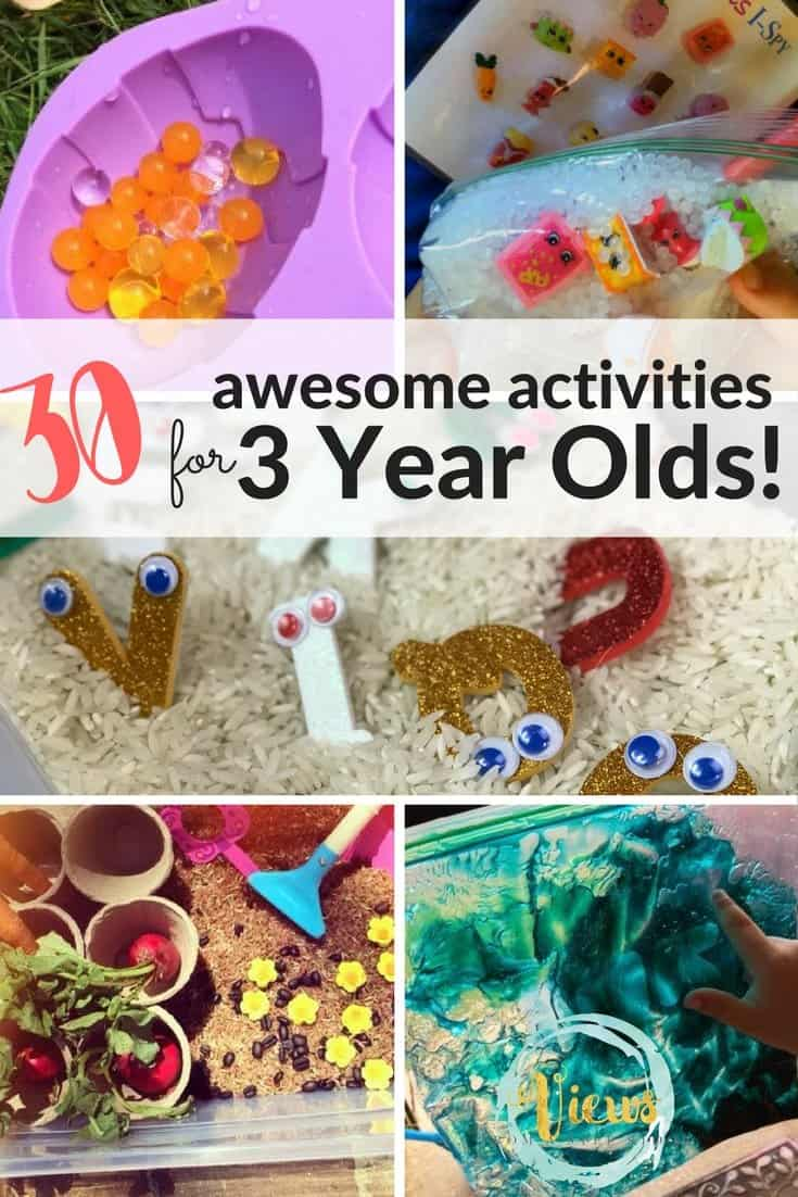 Activities For 3 Year Olds Views From A Step Stool