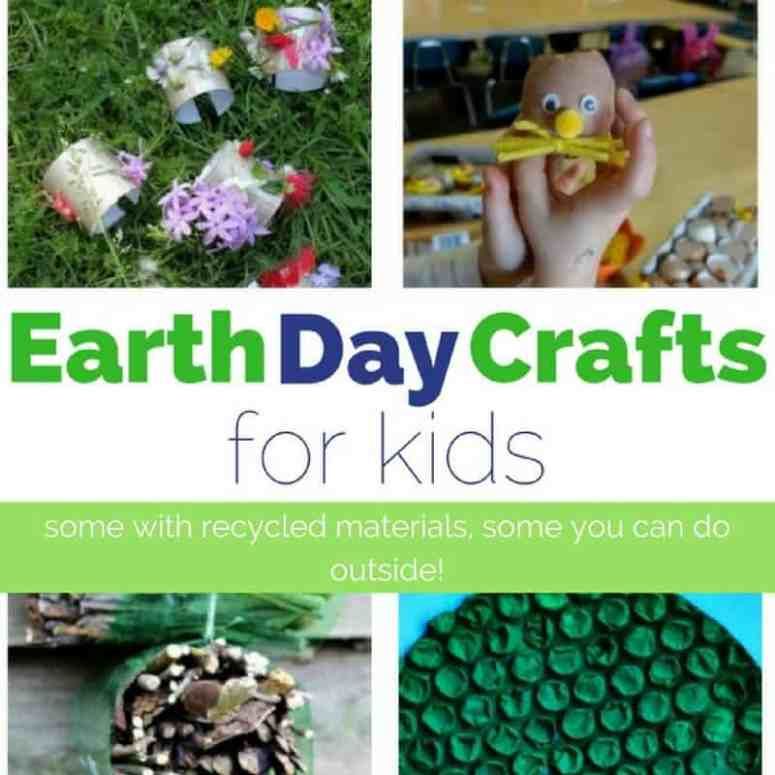 earth day crafts square