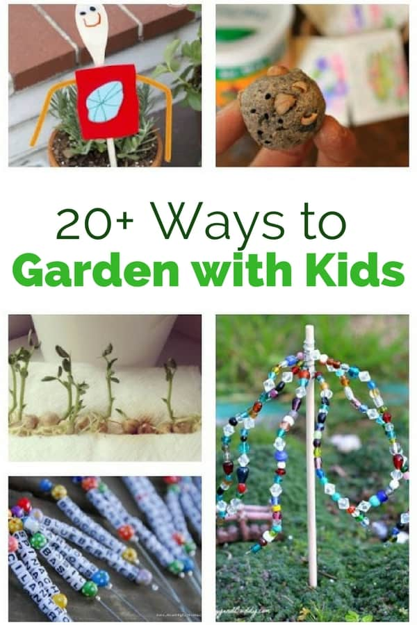 Here are some really awesome ways to start a garden with kids that will leave them thrilled about their outdoor endeavor!