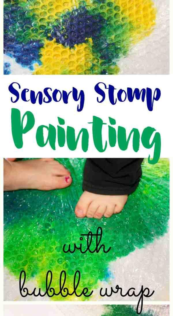 Sensory stomp paint new pin