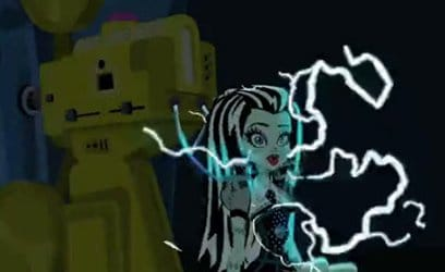 Frankengirl electroshocked.