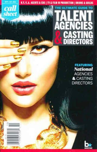"""This is the cover of """"The Ultimate Guide to Talent Agencies and Casting Directors"""". The One-Eyed picture however tells you what is TRULY needed to make it in the entertainment industry."""