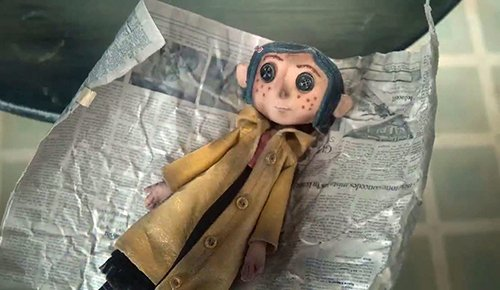"In MK symbolism, dolls represent the slave's alter persona. Coraline will call this doll ""Little Me""."