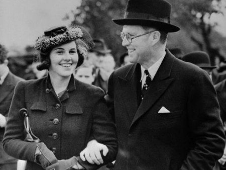 Rosemary Kennedy with her father Joe Kennedy Sr.