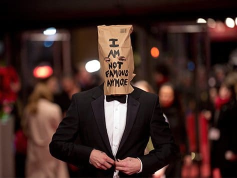 "People are still wondering why Shia appeared with this bag on his head as it did not appear to be part of a ""clever marketing scheme"" or something of the sorts."