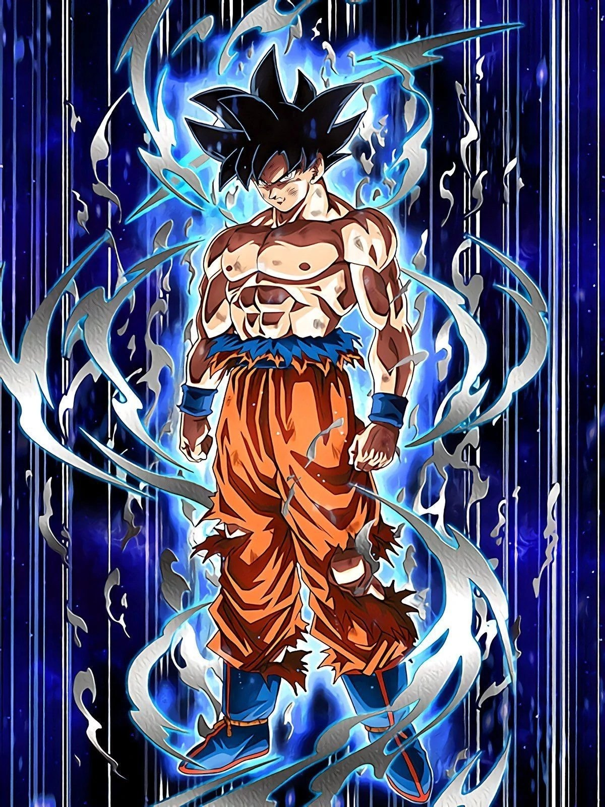 A Surging New Power Goku  Ultra Instinct  Sign     Dragon Ball Z      Realm of Gods  Category Ki  2  and HP  ATK   DEF  120