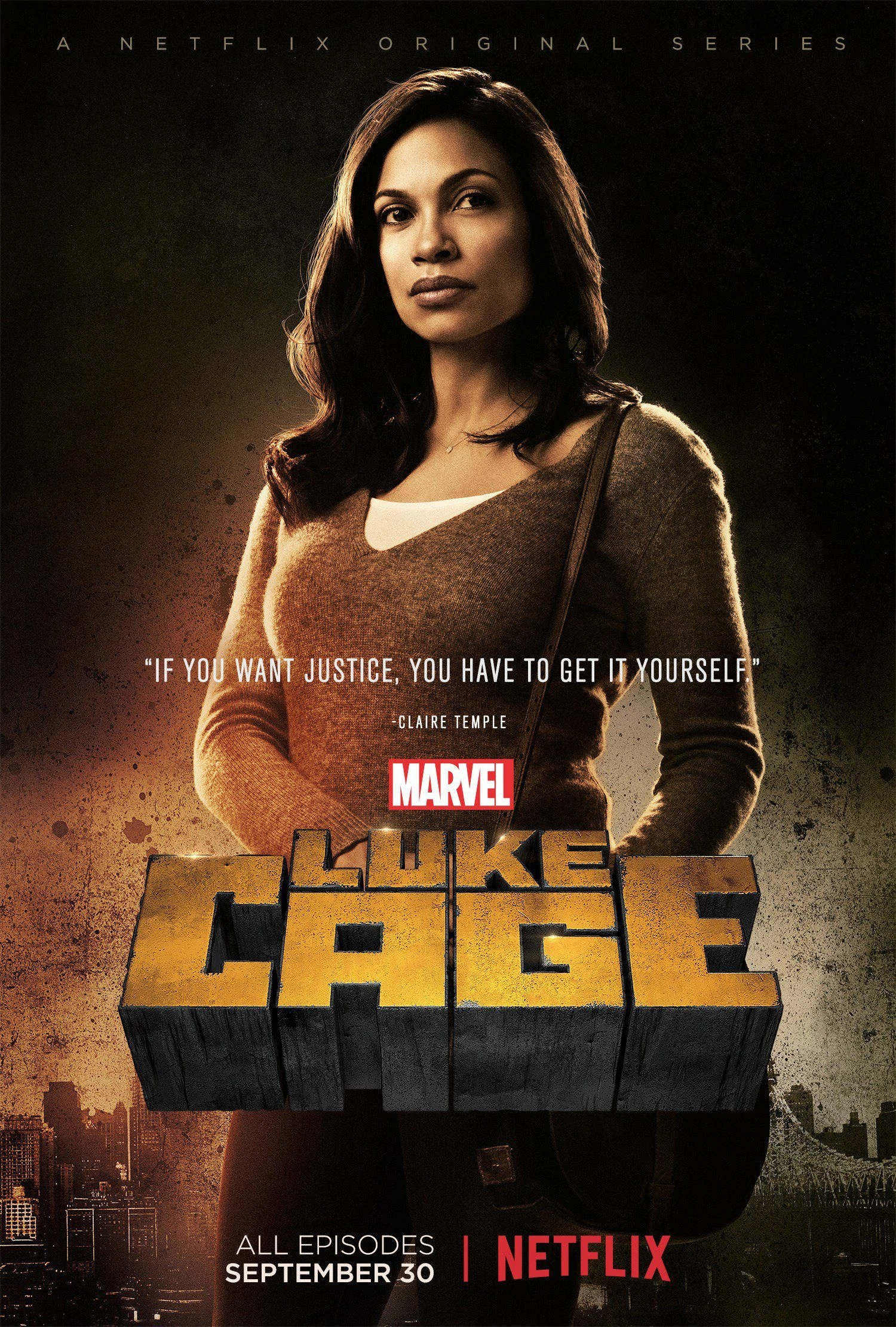 Image   Luke Cage Clara Poster jpg   Marvel Movies   FANDOM powered     Luke Cage Clara Poster jpg