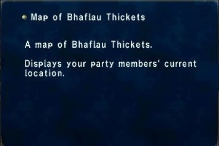 map of bhaflau thickets | ffxiclopedia | fandom powered by