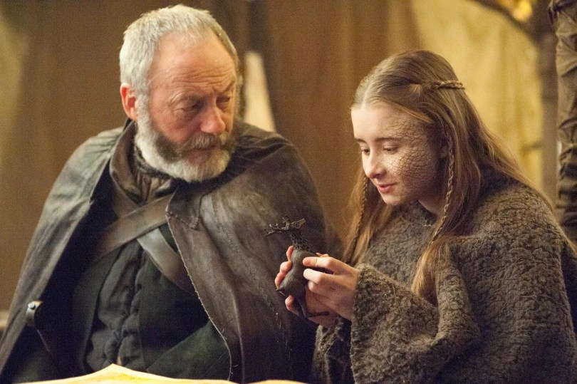 davos and shireen the dance of dragons