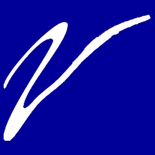 white-on-blue