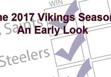 An Early Look at the Vikings Schedule