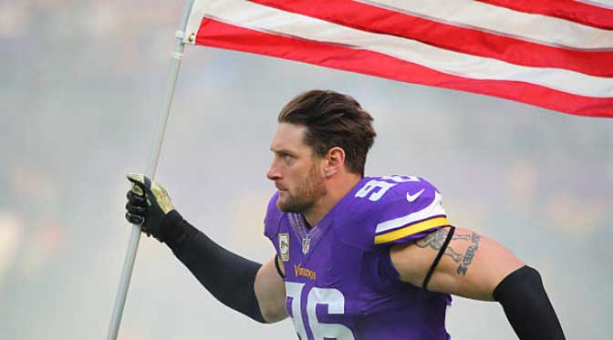 A Photo History of Viking DE Brian Robison