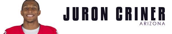 Juron Criner  2012 WR Prospect