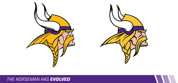 Vikings New Logo - Redesigned Norseman