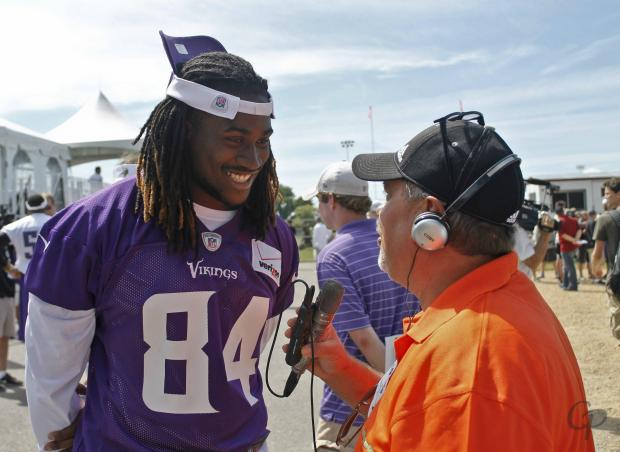 Training Camp 2013 Cordarrelle Patterson