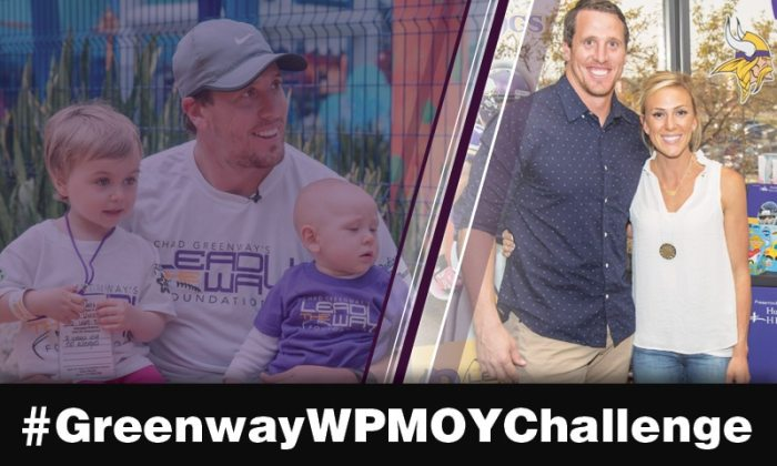 Chad Greenway Walter Payton Man of the Year