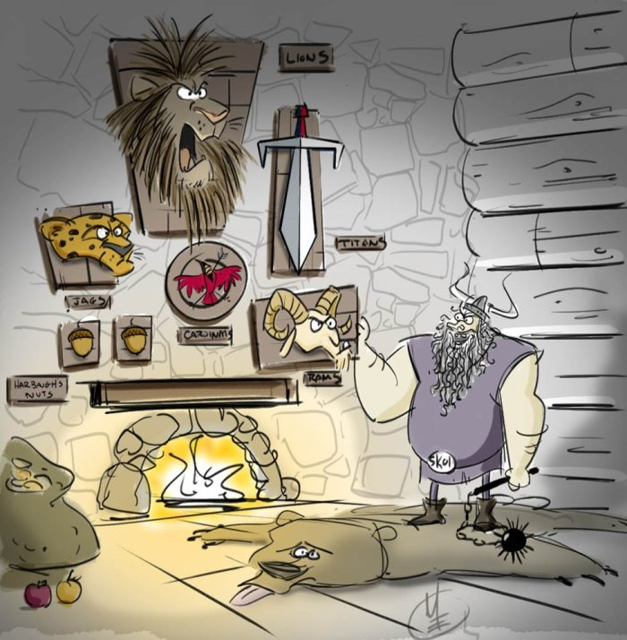 Matt Engstrom Vikings Illustrations Vikings Wall Collection