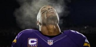 Random Vikings Stats Overload - Adrian Peterson December Breath