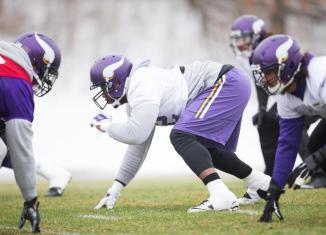 Vikings Inactives Wild Card