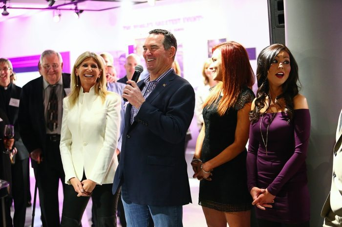 Mike Zimmer At MZF Event