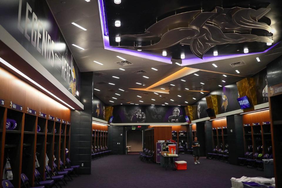 Minnesota Locker Room