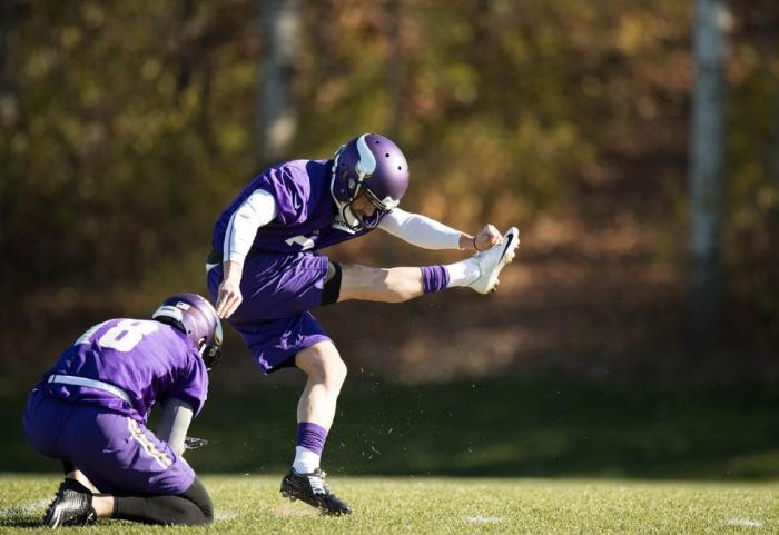 Blair Walsh is the Vikings' kicker