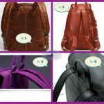 Несколько способов крепления лямок рюкзака