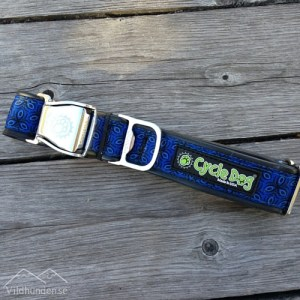 Cycle dog Blue Tri-Style hundhalsband