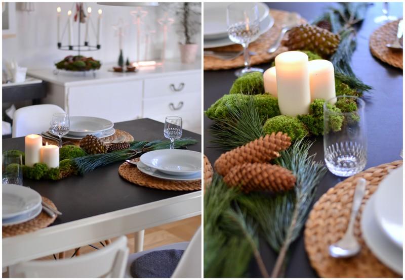 lastminute weihnachtstischdeko villa josefina. Black Bedroom Furniture Sets. Home Design Ideas